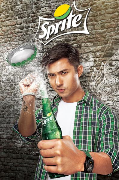 Anmol K C  Appointed as the First Ever Brand Ambassador for Sprite